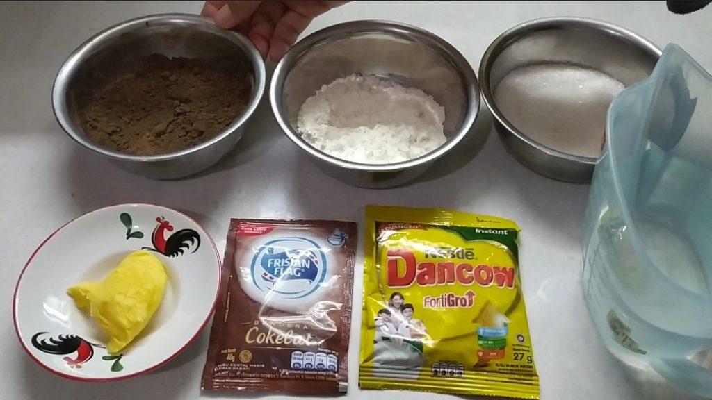 Bahan membuat selai coklat dari coklat bubuk