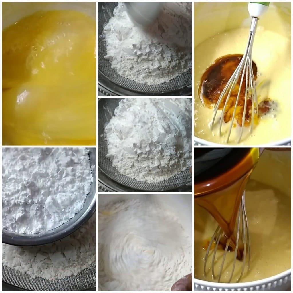 Cara membuat bolu karamel sarang semut