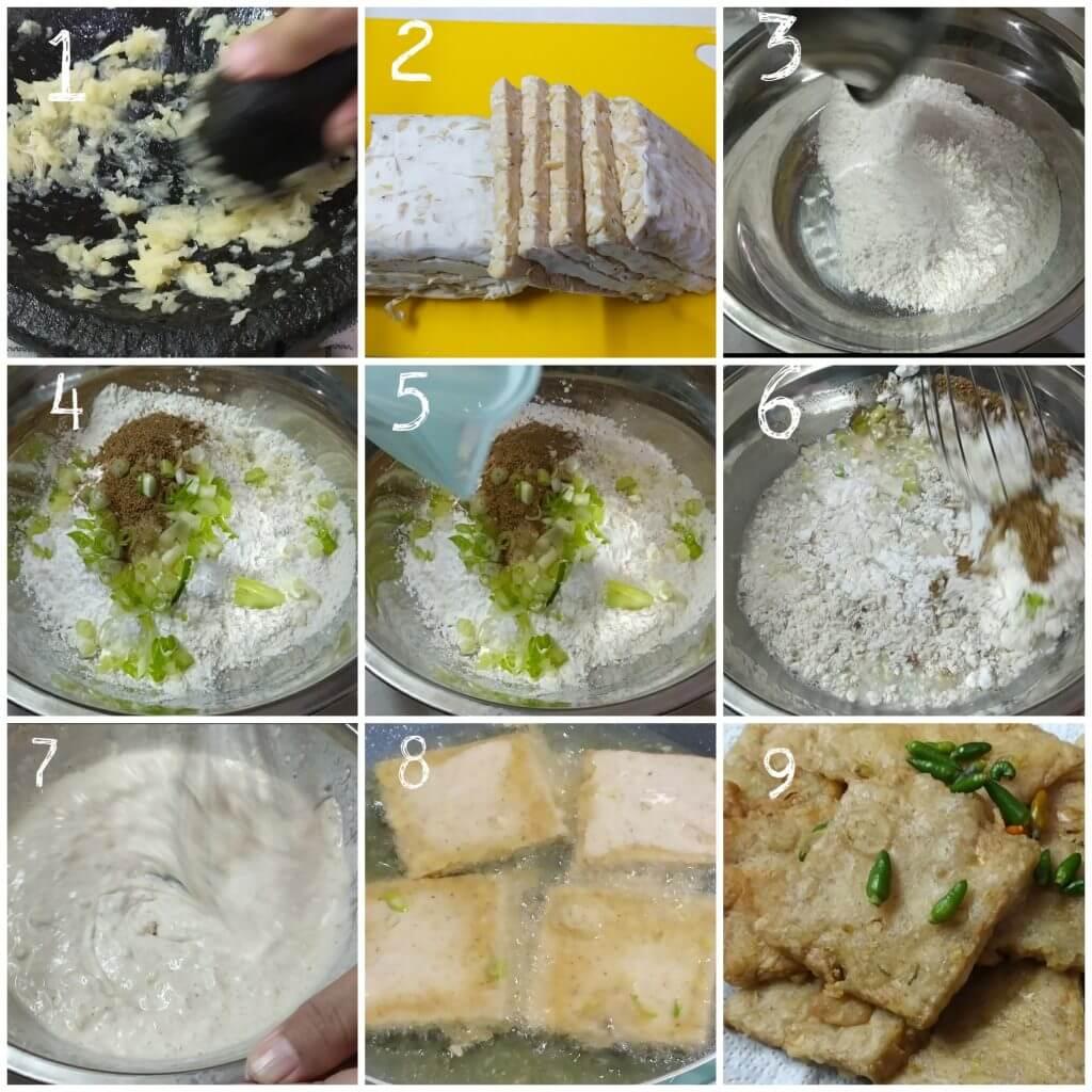 Cara membuat tempe mendoan masakan rumahan