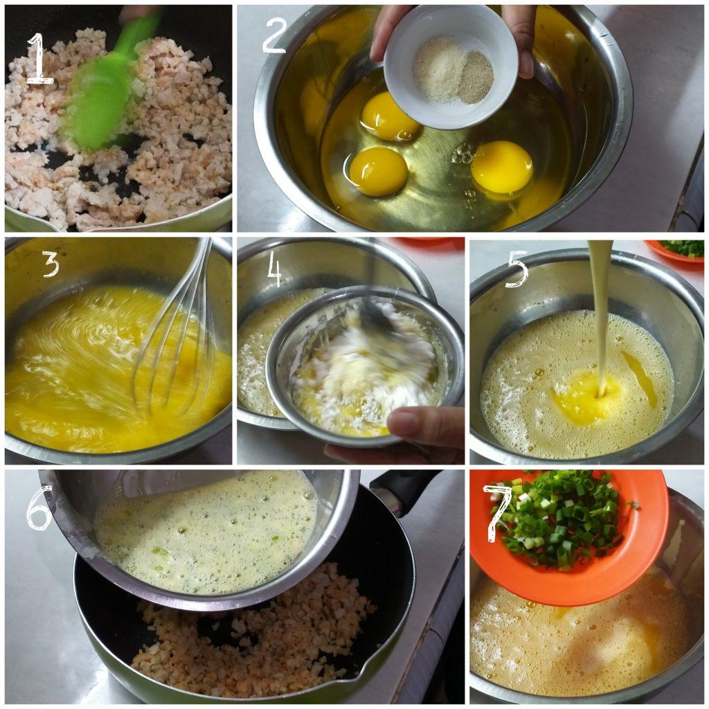 Resep fuyunghai telur spesial, resep fuyunghai chinese food
