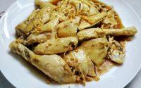 Resep Ayam Rebus Pek Cam Kee Enak dan Yummy