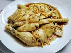 Resep ayam rebus pek cam kee/ Ayam rebus hongkong/ Ayam rebus hainan
