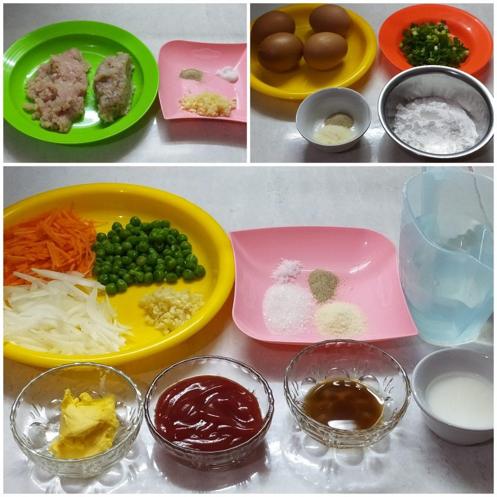 Resep fuyunghai ayam wortel, resep fuyunghai crispy