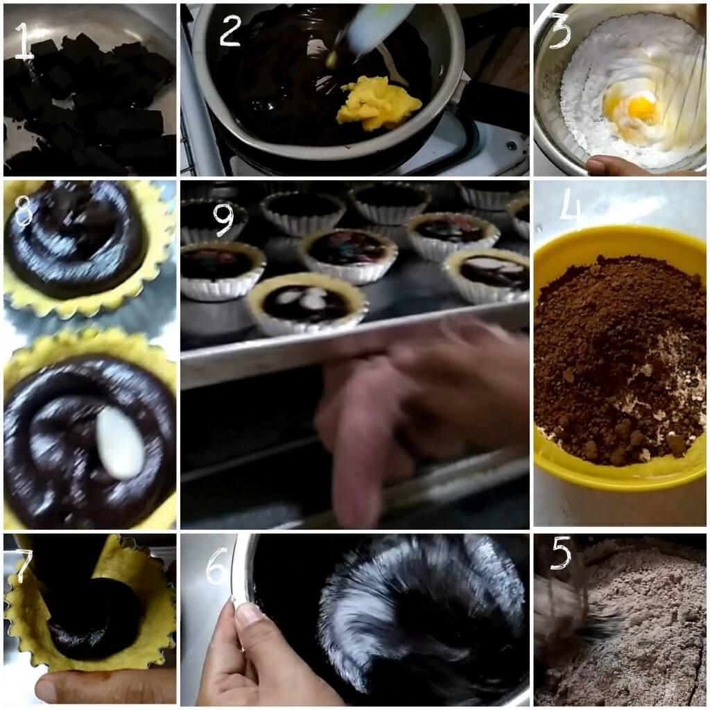 Pie brownies mini untuk jualan