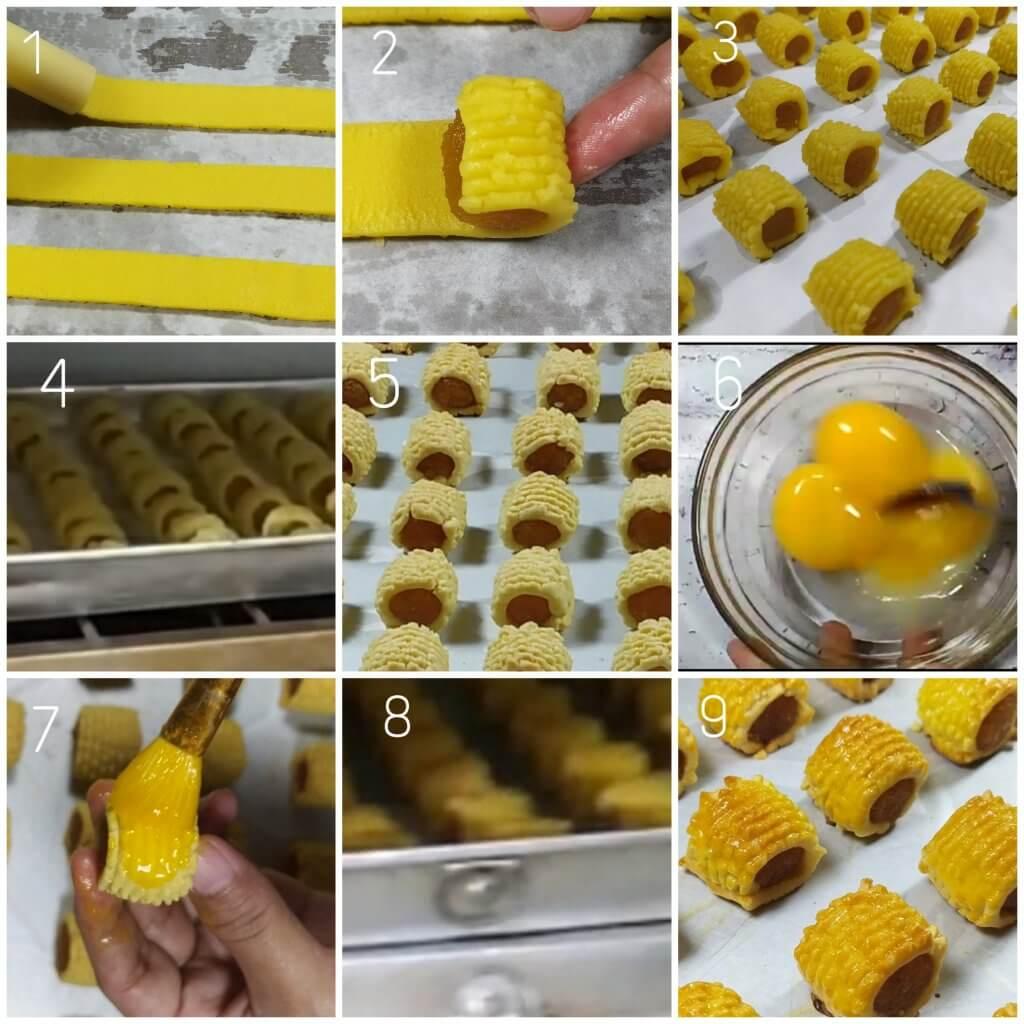 Cara membuat nastar gulung