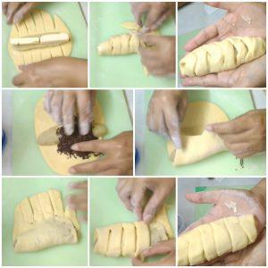 Macam-macam bentuk roti manis, cara membentuk roti manis
