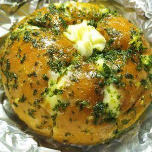 Resep korean garlic bread, korean garlic cream cheese