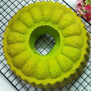 Resep butter cake pandan enak dan empuk