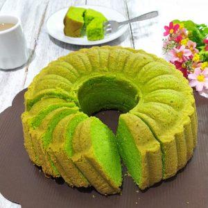 Resep butter cake pandan, resep butter cake pandan ncc