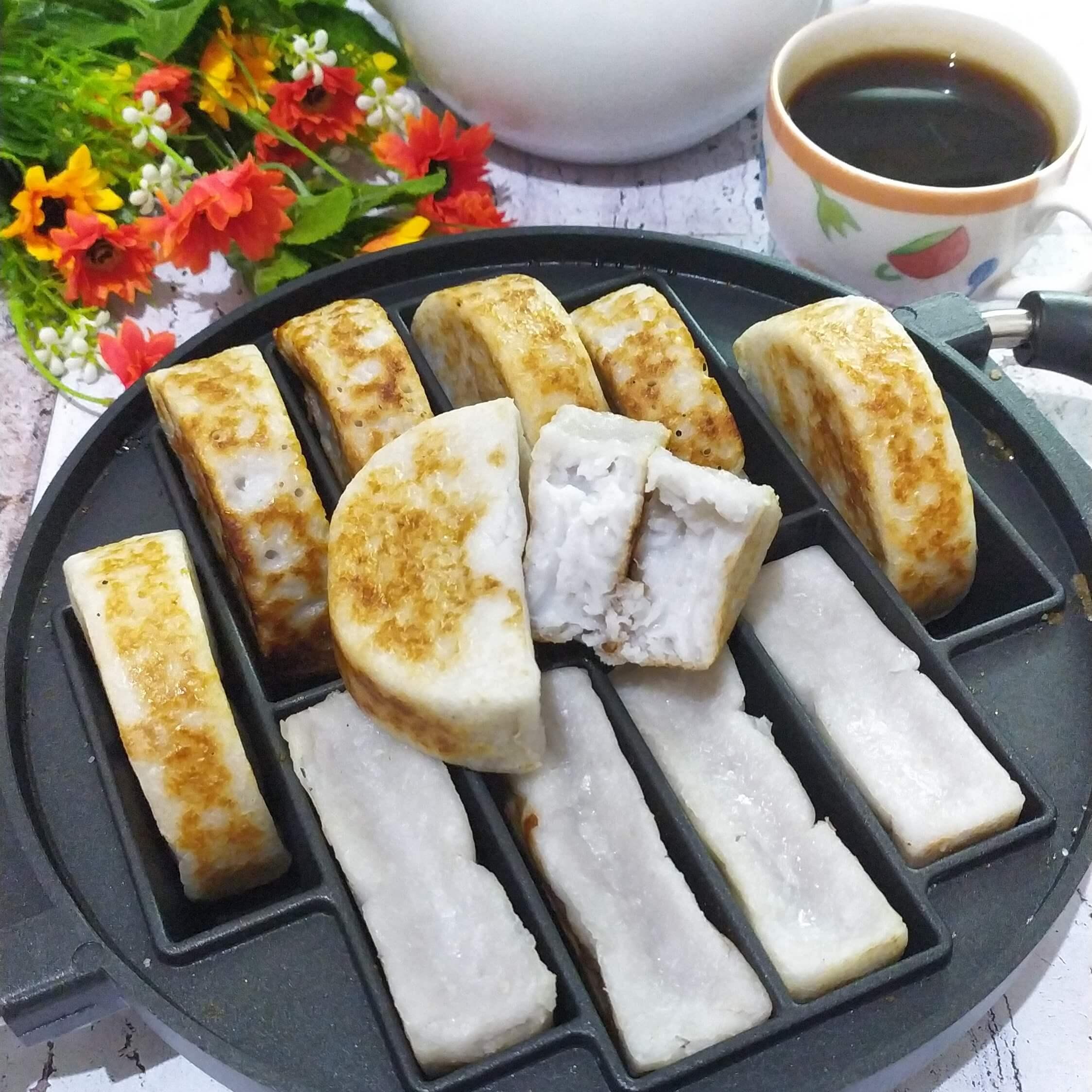 Resep kue pancong lumer dan gurih, resep kue pancong kelapa