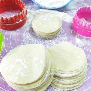 Resep kulit dimsum tipis dan lentur
