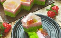 Resep Puding Cake Buah Segar dan Yummy