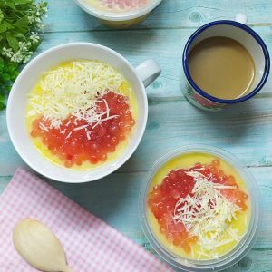 Resep bubur jagung mutiara keju enak lembut