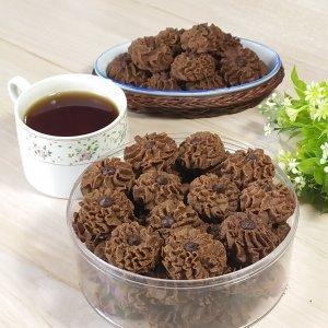 Resep kue semprit coklat sederhana enak dan renyah