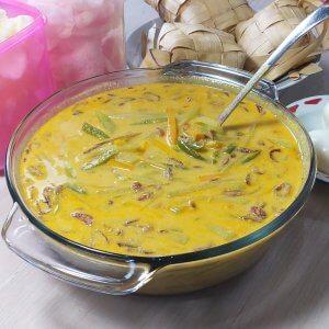 resep sayur godog labu siam untuk makan ketupat, resep sayur godog enak