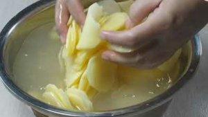 cara membuat keripik kentang tanpa air kapur sirih