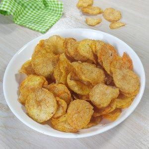 Resep keripik kentang renyah tahan lama tanpa air kapur sirih